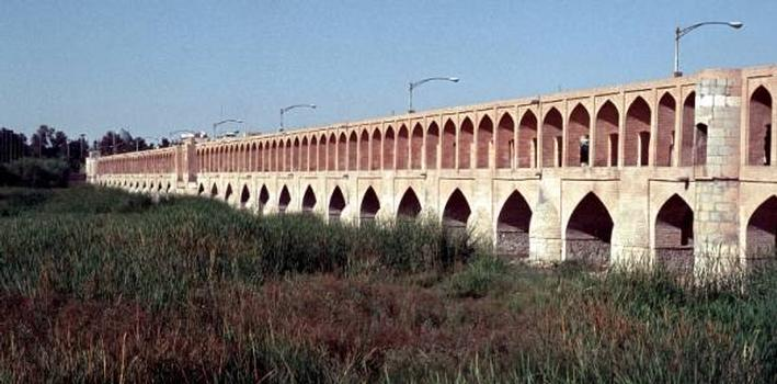 Allahverdi Khan Bridge, Isfahan