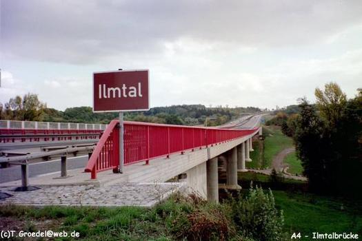 Autobahn A4.Ilmtalbrücke