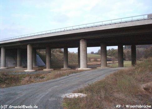 Autobahn A9  Wisentabrücke, Schleiz.
