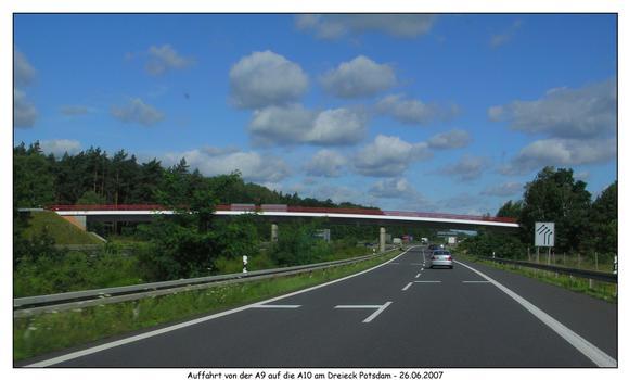 Autobahn A9/A10 - Dreieck Potsdam
