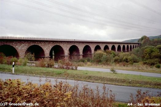 Talbrücke Wommen.
