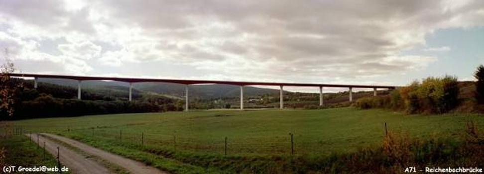 Autobahn A71 Talbrücke Reichenbach