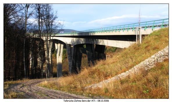 Talbrücke zahme Gera