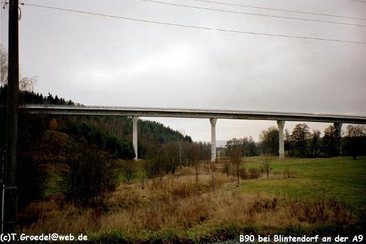 B90 Blintendorf an der A9 Abfahrt Lobenstein