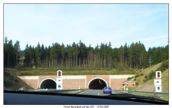 A 71 - Berg Bock Tunnel