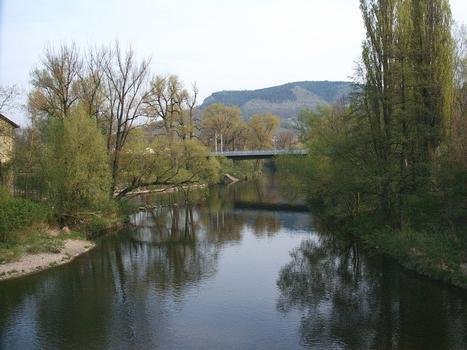 Brücke Alte Lobedaer Strasse, Jena – Blick von der alten Burgauer Brücke