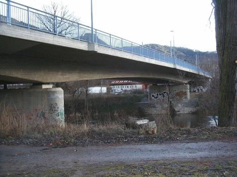 Bridge at Alte Lobedaerstrasse, Jena.