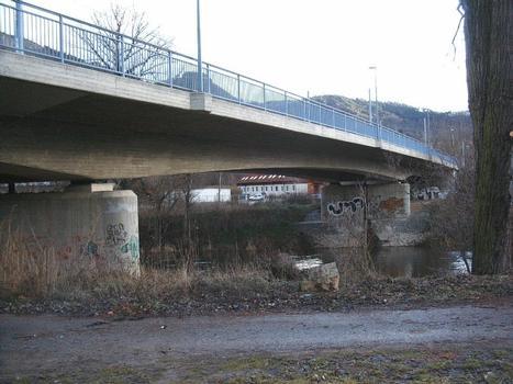 Bridge at Alte Lobedaerstrasse, Jena