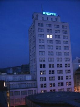 Bau 36, Jena. vom Dach der ehemaligen Chirurgischen Klinik der Friedrich-Schiller-Universität