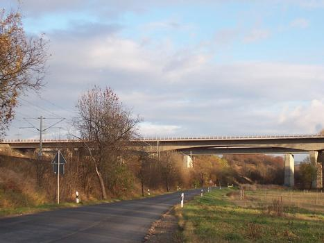 Bridges across the Apfelstädt
