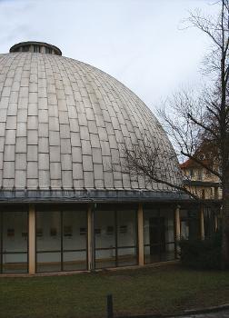 Planetarium, Am Planetarium, Jena