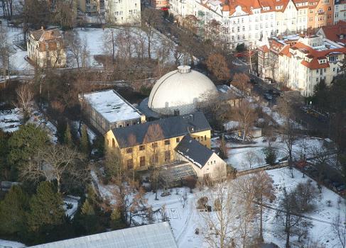 Planetarium Blick vom Intershoptower