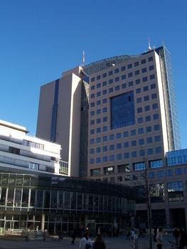 Nouvelle caféteria de l'université Friedrich Schiller, Ernst-Abbe-Platz, Iéna