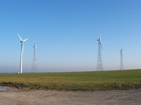 Wind power plant, Frauenprießnitz
