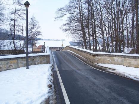 Brücke über die Ilm in Oettern