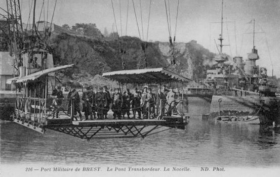 Transbordeur de Brest.