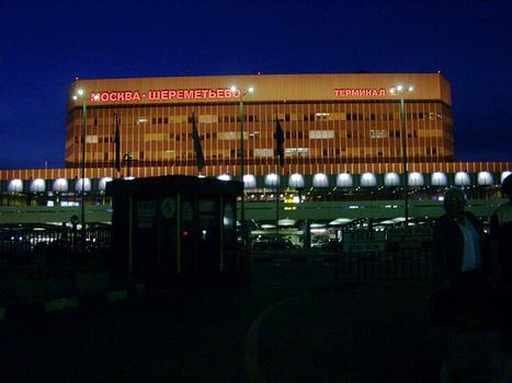 Sheremtyevo II Airport, Moscow.
