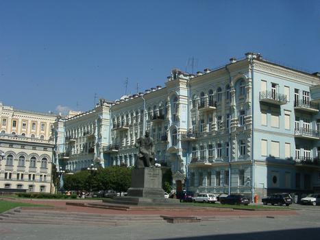 Ukraine, Kiew, Altstadt, Oper und BalletTheater