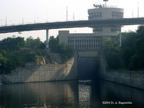Lock at Zaporizhzhya, Ukraine