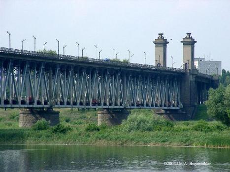 Ukraine, Dnjepr, 323 km von Kiew, Krementschug, Hebebruecke