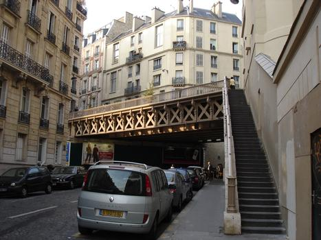 Rue du Rocher Bridge, Paris