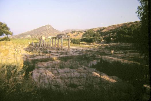 Brauron (Attique)Pont sur l'Erasinos à l'entrée du sanctuaire