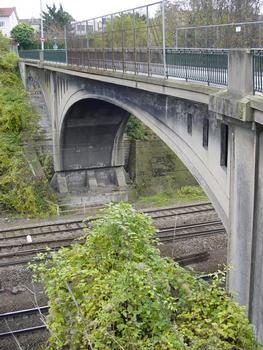 Grande Ceinture. Pont Franchetti, près de la gare de Bry-sur-Marne (94)
