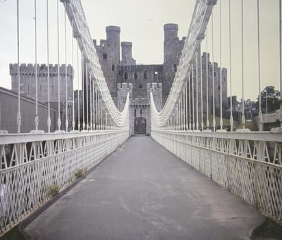 Hängebrücke Conwy