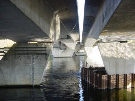 Ponts autoroutiers de Corbeil-Essonnes