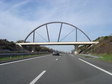 Pont de l'aire des Volcans, sur A71