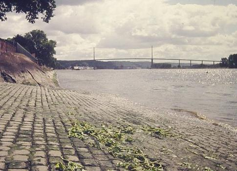Pont de Brotonne. Rampe d'accès de l'ancien bac de Caudebec