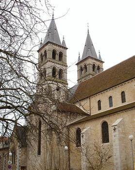 Melun (77). Collégiale Notre-Dame