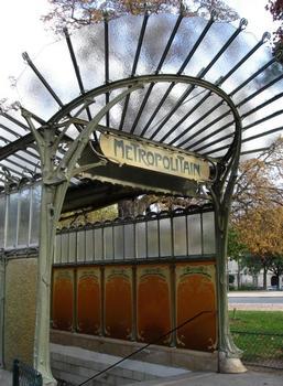 Métrobahnhof Porte Dauphine, Endstation der Linie 2