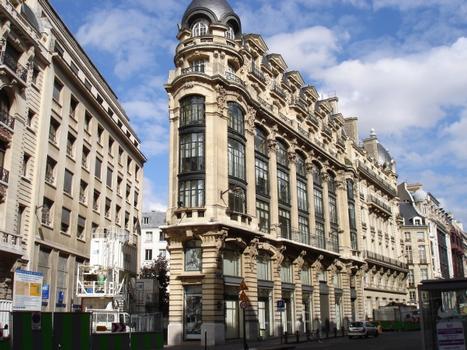 130 rue Réaumur & rue Léon Cladel, Paris
