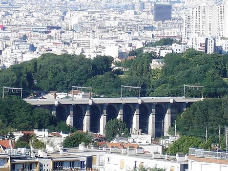 Viaduc de Meudon, vu de la Terrasse de Meudon