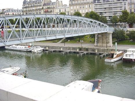 Port de l'Arsenal. Passerelle de Mornay