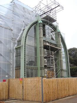 Muséum National d'Histoire Naturelle. Restauration des serres tropicales