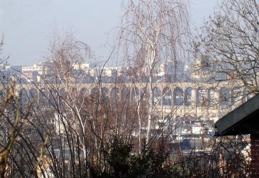 Pont-aqueduc de la Vanne (ou «aqueduc d'Arcueil»). Cachan (94)