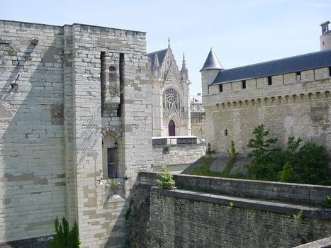 Château de Vincennes. Pont levis sur fossé ouest