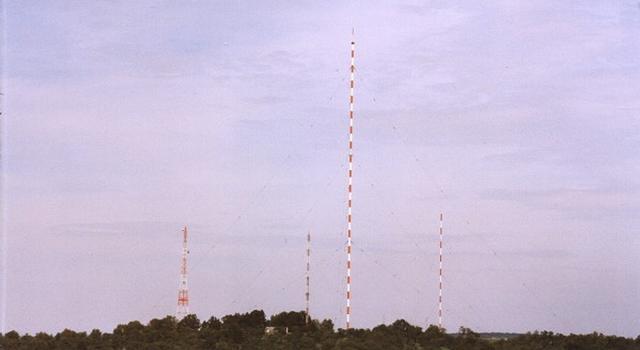 Richtfunkturm, Reflektormast, Sendemast & Ausblendmast, Mühlacker.