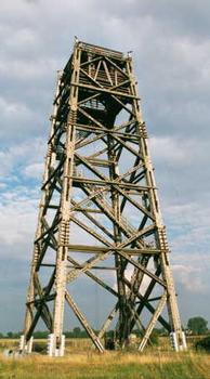 Meßturm II, Antennenmeßplatz Brück