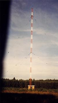 Medium wave mast at Mainflingen