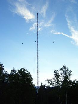 Mât pour recherches météorologiques à Karlsruhe