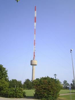 Waldenburg transmission tower