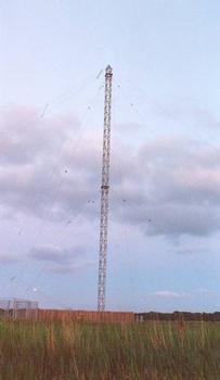 Sendemast Mittelwellensender Radio Bremen.
