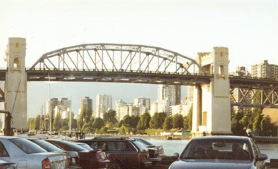 Burrard Street Bridge, Vancouver.