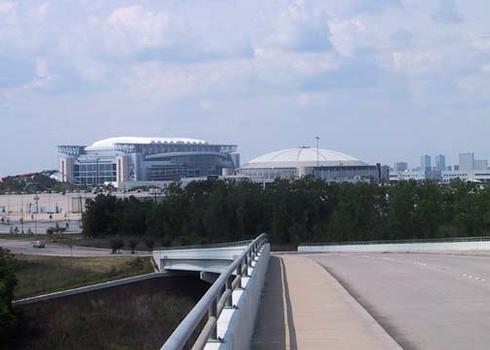 Reliant Stadium, & Astrodome.