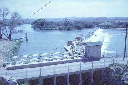 Leasburg Diversion Dam