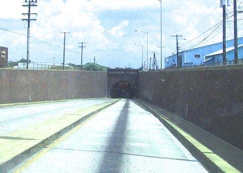 Washburn Tunnel, Southern entrance, Pasadena, TX.
