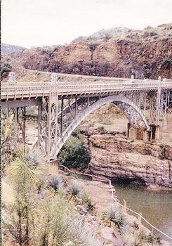 Salt River Canyon Bridge (Old Apache Bridge)